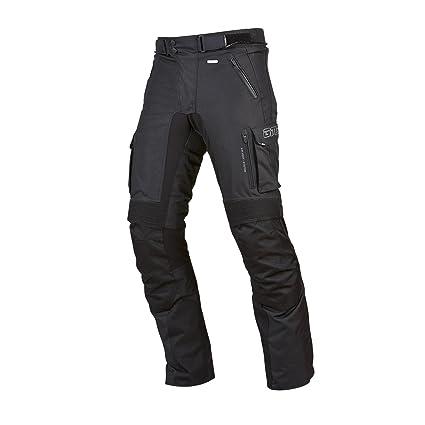 Germas 405. 01-48 trento man-s pantalon de motard imperméables-système de ventilation airvent pour moto noir taille s :  /