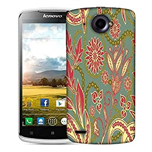 Snoogg Colorful Petals Designer Protective Phone Back Case Cover For Lenovo S920