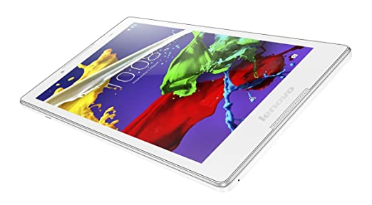 Lenovo ZA030004SE Tablet (8 inch, 16GB , Wi-Fi Only), White