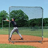 First Base Fungo Protector - Collegiate Slip-On Net w Legs by SSG
