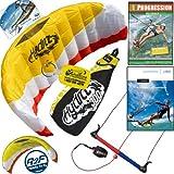 HQ Hydra II 300 V2 Kiteboarding Trainer Kite Bundle : Including Progression Beginner... by HQ Power Kites, Fat Sand Video Productions, IKO, WindBone