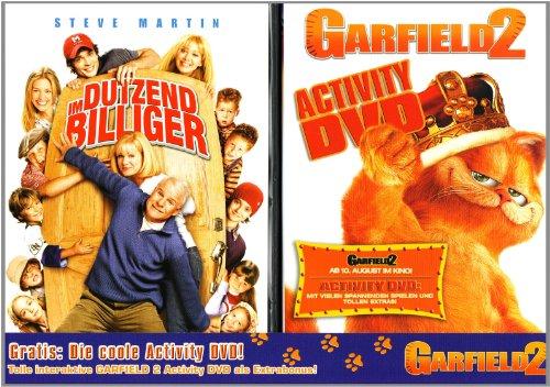 Im Dutzend billiger / Garfield 2: Activity DVD