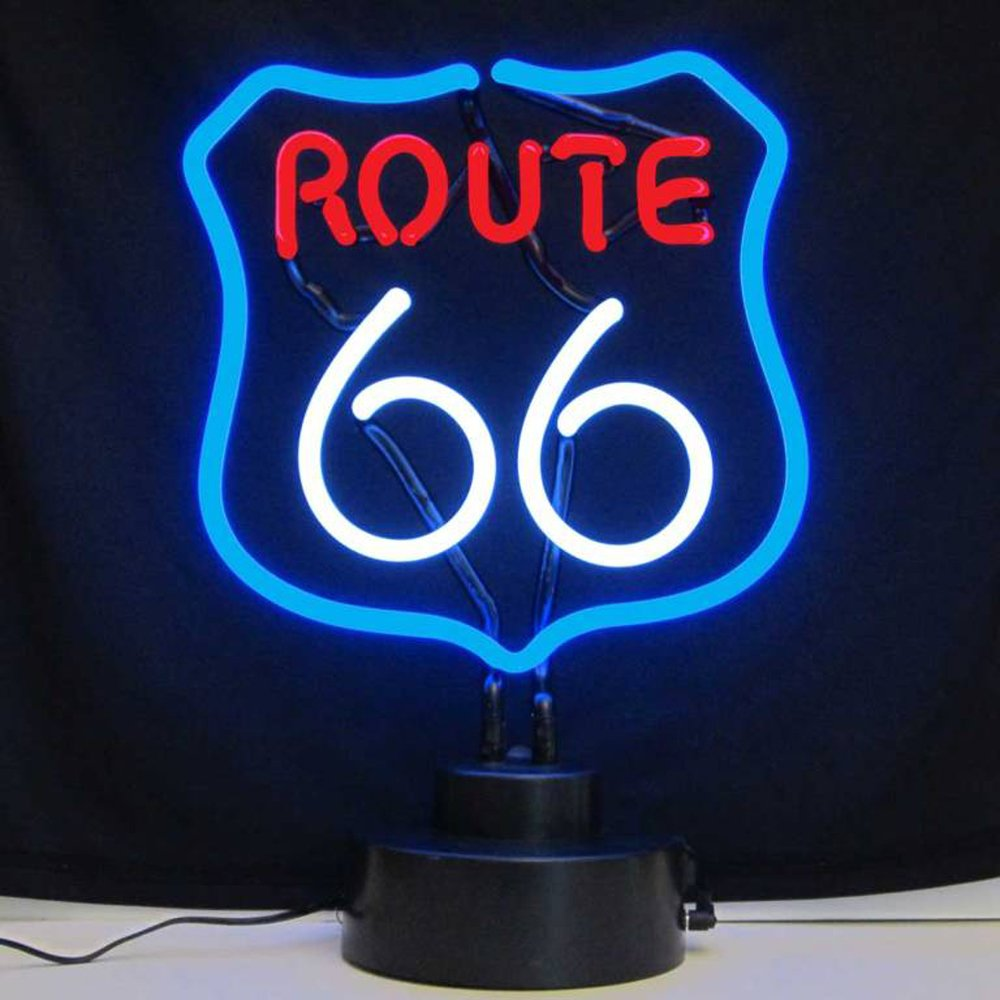 Neonetics Business Signs Route 66 Neon Sign Sculpture 0