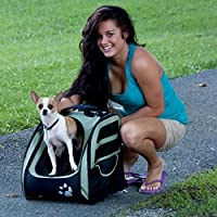 Pet Gear I-GO2 Traveler Roller Backpack for cats and dogs