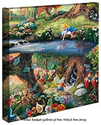 Disney Alice in Wonderland - 14 x 14 Gallery Wrapped Canvas