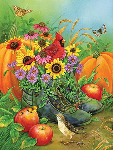 Boots Bouquet a 300-Piece Jigsaw Puzzle by Sunsout Inc.