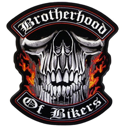 Hot Leathers Brotherhood Of Bikers Patch (4