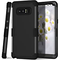PIXIU Shockproof Hybrid High Impact Hard Plastic+Soft Silicon Rubber Armor Case for Galaxy Note 8