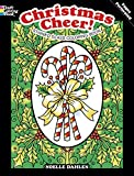 Christmas Cheer! Stained Glass Coloring Book (Holiday Stained Glass Coloring Book)