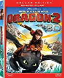 How To Train Your Dragon 2 (2D + 3D version Region A Blu-Ray) (Hong Kong Version) English Language, Mandarin & Cantonese subtitled / Lenticular Cover