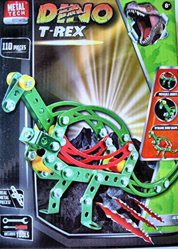 DINO T-Rex 110 piece Metal Construction Toy