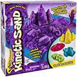 Kinetic Sand - Sandbox & Molds Activity Set (Purple)