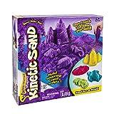 Kinetic Sand - Sandbox & Molds Activity Set (Purple)