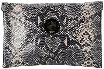 Kate Spade New York South Kensington-Adair  Clutch,Black/Cream,One Size