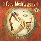Yoga Meditations: Artwork by Elena Ray 2015 Wall Calendar