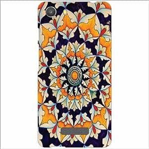 Micromax Unite 3 Q372 Back Cover - Silicon Traditional Print Designer Cases