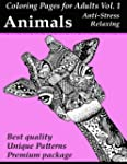 Coloring Pages For Adults: ANIMALS: A...