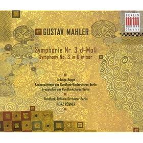Symphony No. 3 in D minor: I. Immer dasselbe tempo