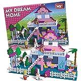 MY GIRLS PRINCESS DREAM HOME BRICK BLOCKS SET BUILDING KIDS CONSTRUCTION TOYS