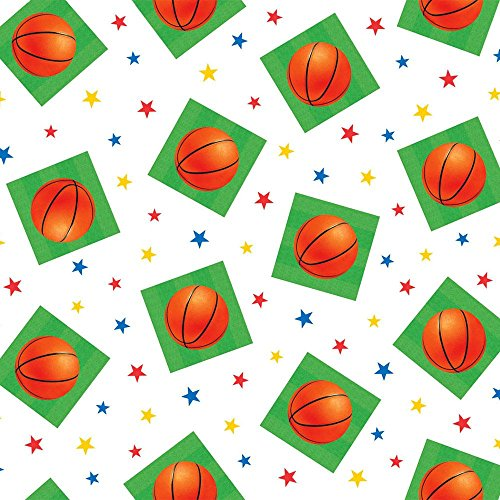 Basketball Plastic Tablecover
