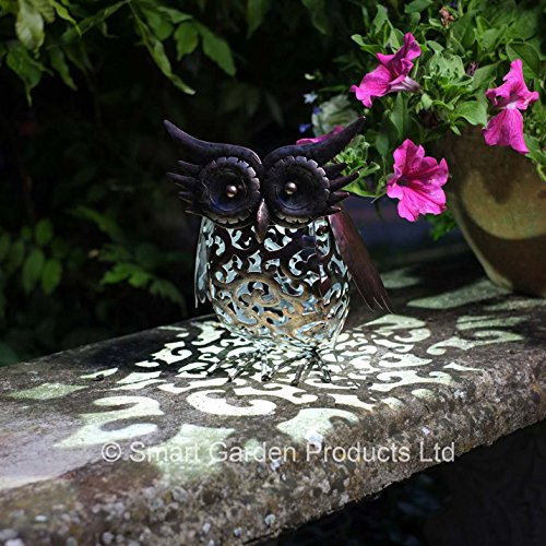 smart-garden-metal-scroll-owl-solar-light