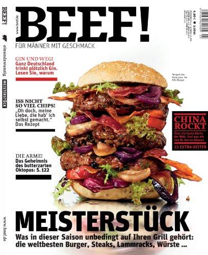 BEEF! - Für Männer mit Geschmack: Ausgabe 3/2014 hier kaufen