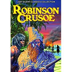 Robinson Crusoe (1927) / Be My King (1928) (Silent)