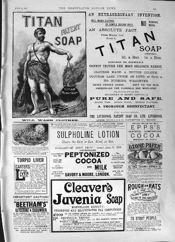 cacao-1891-di-epps-della-carta-sensibile-allozono-del-juvenia-delle-mannaie-del-sapone-del-titano-de