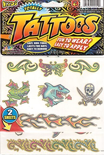 Totally Tatoos (2 Sheets)