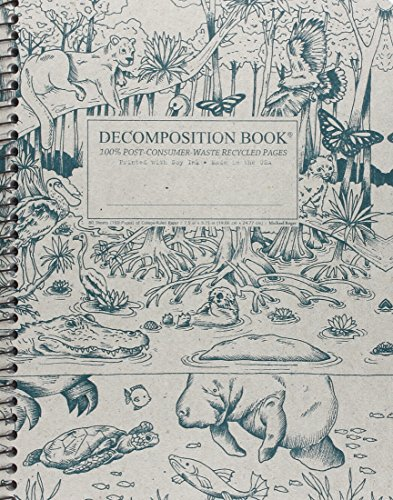 Everglades Coilbound Decomposition Book Ruled