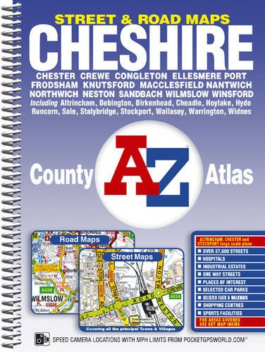 Cheshire A-Z County Atlas