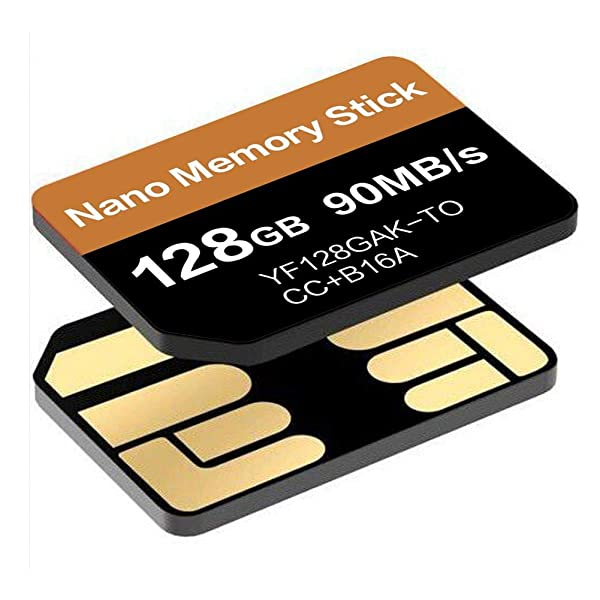 Rosymity Nm Card 128gb for Compatible with Huawei Huawei Mate20 P30 Mobile Phone (Tamaño: 128GB)