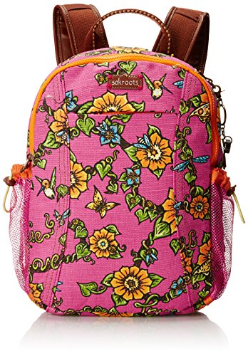 Sakroots Artist Circle Sporty Backpack, Strawberry True Love, One Size