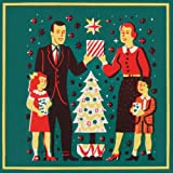 Family Christmas Pack of 10 Christmas Cards (Square)||RF10F