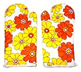 High Quality Microwave Oven Pad heat Proof Hand Gloves in Set of 2 Gloves