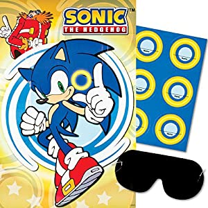 Com sonic the hedgehog party ring game toys amp games amazon com sonic