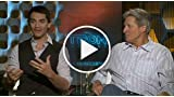 Tron Legacy - James Frain and Bruce Boxleitner