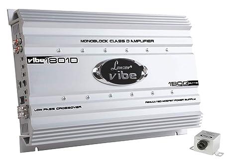 Lanzar Mosfet Amplificateur 1800 W Argent