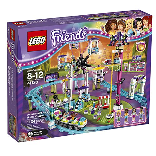 LEGO Friends 41130 Amusement Park Roller Coaster Building Kit (1124 Piece) (Amusement Tickets compare prices)