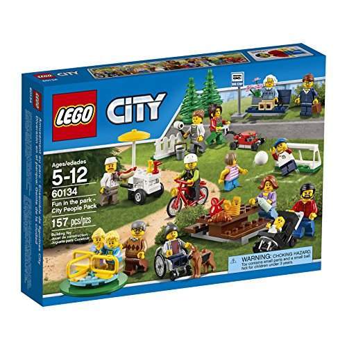 LEGO City Town 60134 Fun in the park - City People Pack Building Kit (157 Piece) (Wooden Building Fun Set compare prices)