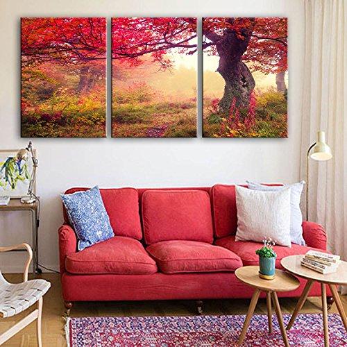 modylee atree dekorative gem lde rahmenlose bilder wohnzimmer pcs3 bilder leinwand 40 60 3. Black Bedroom Furniture Sets. Home Design Ideas