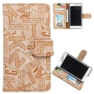 DooDa PU Leather Wallet Flip Case Cover With Card & ID Slots Nokia Asha 500 / 500 Dual sim