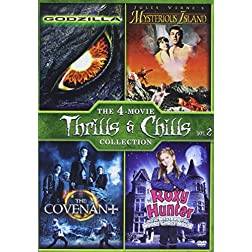 Covenant, the / Godzilla (1998) / Mysterious Island (1961) / Roxy Hunter and the Mystery of the Moody Ghost -...