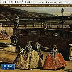 Leopold Koeluch: Piano Concert