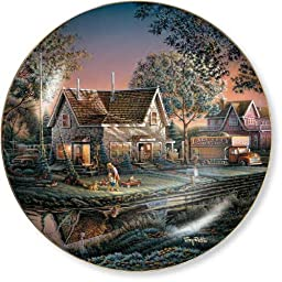 His First Friend by Terry Redlin 8.25 inch Decorative Collector Plate