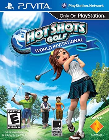 Hot Shots Golf: World Invitational - PS Vita [Digital Code]
