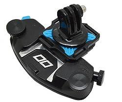 LC Prime® Strong Universal Waist Belt Tripod Mount Clip Adapter for SLR DSLR Camera GoPro Blue 1
