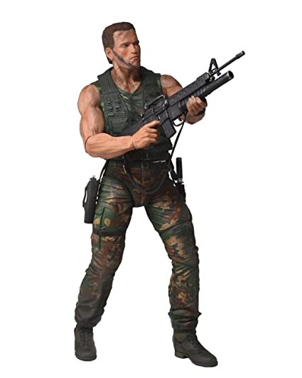 Neca Predators Jungle Patrol Dutch 1/4 Scale Action Figurine