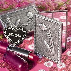 Floral Design Compact Mirror Favors, 1