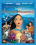 Cover art for  Pocahontas Two-Movie Special Edition (Pocahontas / Pocahontas II: Journey To A New World) (Three-Disc Blu-ray/DVD Combo in Blu-ray Packaging)